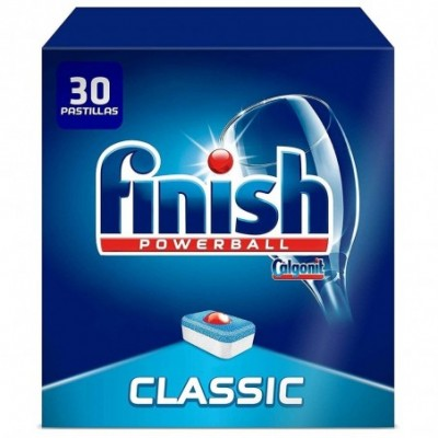 Finish Classic Regular Pastillas Powerball Para Lavavajillas - 30 Pastillas