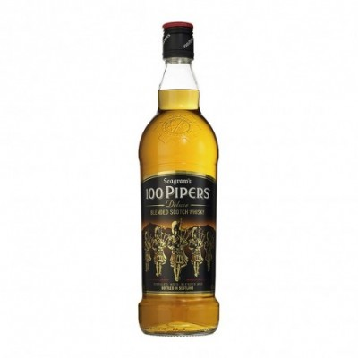 Pack 6 uds. 100 Pipers Whisky Escoces - 70 CL