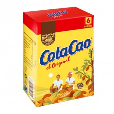 Pack 6 uds. ColaCao Original Cacao Natural Soluble - 18gr.