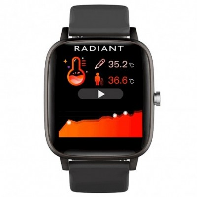 Reloj smartwatch Radiant RAS10201 Queensboro conexión Bluetooth pack correas