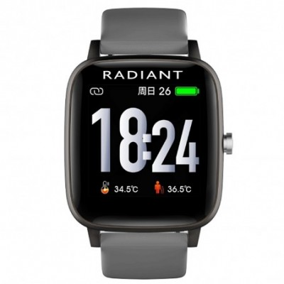 Reloj smartwatch Radiant RAS10202 Queensboro conexión Bluetooth pack correas