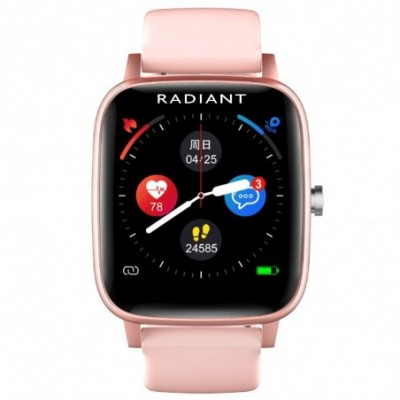 Reloj smartwatch Radiant RAS10203 Queensboro conexión Bluetooth pack correas