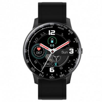 Reloj smartwatch Radiant RAS20401 Times Square conexión Bluetooth pack correas
