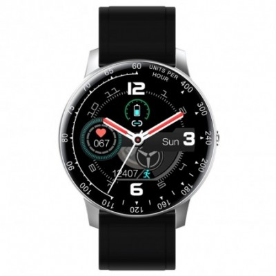Reloj smartwatch Radiant RAS20402 Times Square conexión Bluetooth pack correas