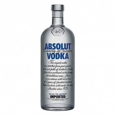 Absolut Vodka Sueco - 70 cl.