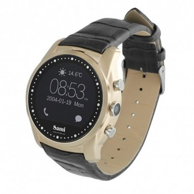 Reloj smartwatch Sami Wearable Round WS-2306NGRG