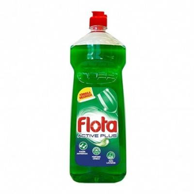 Flota Active Plus Lavavajillas Líquido A Mano - 1250 ml.