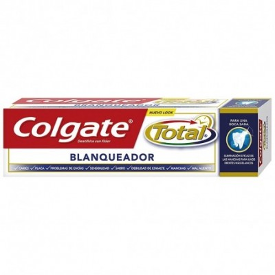 Pack 12 uds. Colgate Total Dentífrico Blanqueador - 75 ml.
