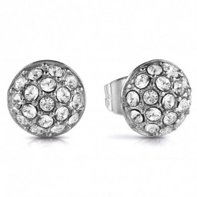 Pendientes Guess Never Without UBE28074 acero inoxidable quirúrgico rodiado cristales Swarovski