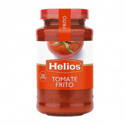 Pack 12 uds. Helios Tomate Frito Sin Gluten - 570 gr.