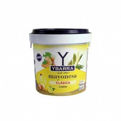 Pack 2 uds. Ybarra Mayonesa Cubo - 1800 ml.