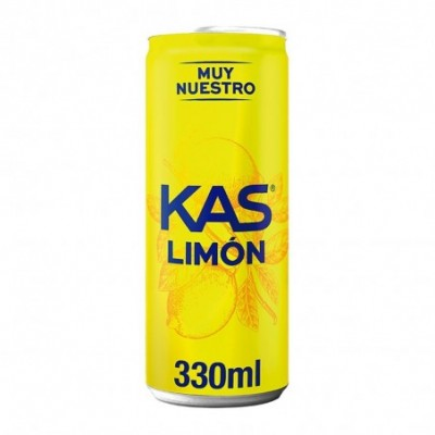 Kas Refresco De Limón Lata - 330 ml.