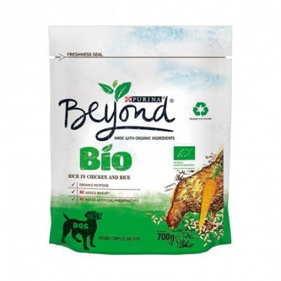 Pack. 8 uds. Purina Beyond Alimento Pienso Perros Con Pollo - 700 gr.