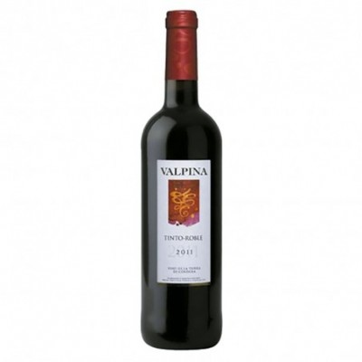 Pack 6 uds. Valpina Vino Tinto Roble 2011 - 75 cl.